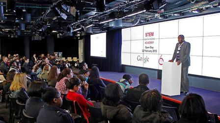 STEM Academy open day at the Google campus in St Giles High Street
