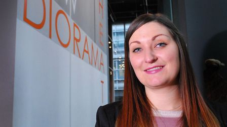 Sophie Wallis, theatre manager at the New Diorama Theatre, one of the charities that will benefit. P