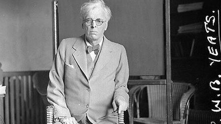William Butler Yeats, pictured in 1923 aged 58