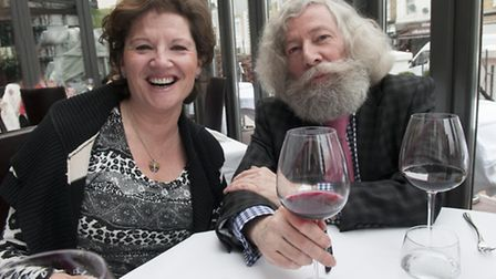 Joseph Connolly entertains Lesley Malnick to lunch at One Blenheim Terrace
