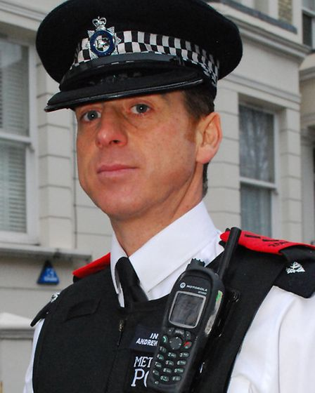 Insp Andrew 'Charlie' Morrow. Picture: Polly Hancock