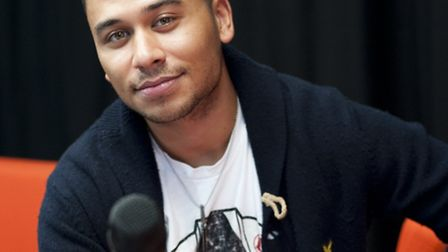 Presenter and Eastenders actor Ricky Norwood during rehearsals for the Hackney Live dance event whic
