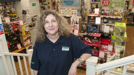 Melanie Dunne at Robert Dyas in Swiss Cottage, hailed as an unsung hero for her brilliant customer s