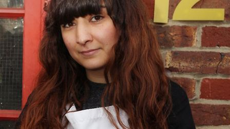 Maria Goodman, owner of Molly Bakes, is upset at demolishing plans for the Westgate Centre, Hackney.