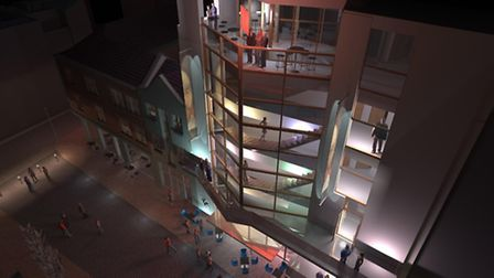 An artist's impression of The Theatre