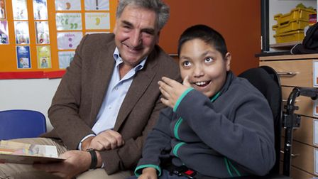 Jim Carter and Ishmam Sulayman