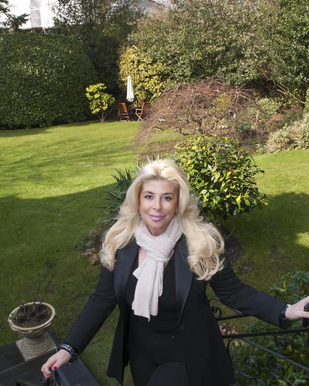 Property magnate Debbie Dove claims she has been 'harassed and threatened' by neighbours over the pl