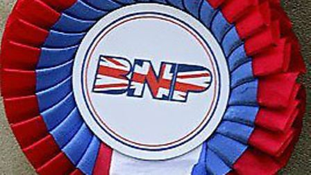 British National Party rosette