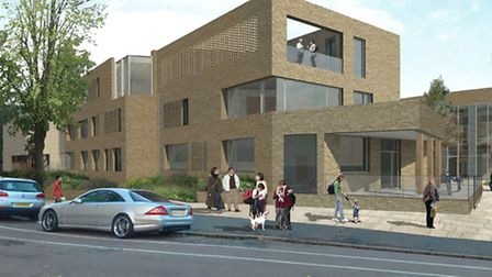 An artist's impression of the new Highgate Junior School site