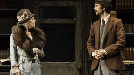Judi Dench (Alice Liddell Hargreaves) and Ben Wishaw (Peter Llewelyn Davies) in Peter and Alice at t