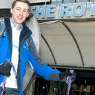 Radiotherapy physicist Peter Faulkner, 28, is part of the Royal Free Hospital team that will climb t