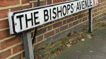 """Hammerson House is on the exclusive """"Billionaires' Row,"""" The Bishops Avenue"""