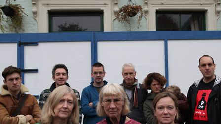 Residents campaigning against plans to turn The Chesham Arms pub into flats