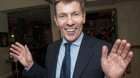 Daily Mail columnist Andrew Pierce speaking at a Conservative Party dinner in Hampstead. Picture: Ni