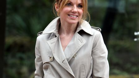 Geri Halliwell attends the opening of the new Tiger enclosure at London Zoo. Picture: PA/Steve Parso