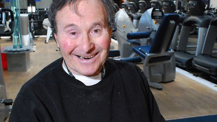 Retired barrister Daniel Robinson, who has MS, is delighted that The Armoury gym has been saved. Pic