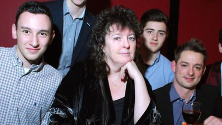Poet Laureate Carol Ann Duffy visiting UCS. Picture: Polly Hancock.