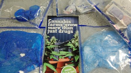 Drugs and cash were seized during Operation Hawk