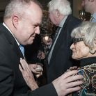 Brian Coleman pictured with Rossette Irwin 95yrs who has been a member of Hampstead Tory Party for 6