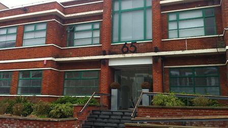 Squatters invaded this empty office block in West Hampstead - prompting complaints from neighbours a