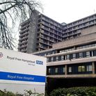 The Royal Free Hospital in Pond Street