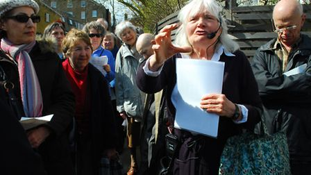 Belsize Residents Association take a local history walk around the Eton College Estate