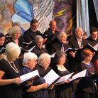 The Fleet Singers Community Choir give a special performance to celebrate the Queen's Diamond Jubile