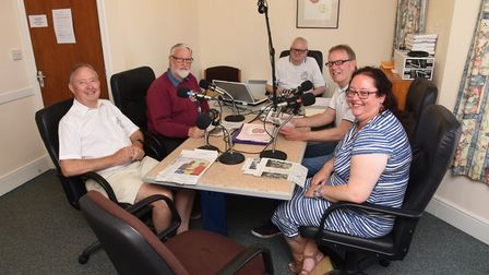 Lowestoft based talking newspaper 'Sound East' are looking for more volunteers. Rodney Scase, Tim Ho