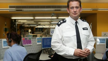 """Ch Supt Ben-Julian """"BJ"""" Harrington during his time at the Central Communications Command. Picture: Y"""