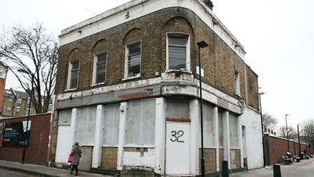 The former Marquis of Lansdowne pub in Cremer Street.