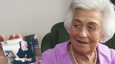 Davina Benson, 80, had her handbag snatched while unloading her shopping. Picture: Nigel Sutton