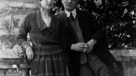 Katherine Mansfield and John Middleton Murry in 1920. Picture: National Library of New Zealand