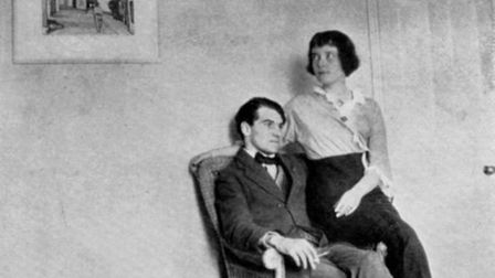 Katherine Mansfield and John Middleton Murry. Picture: Victoria University of Wellington Library