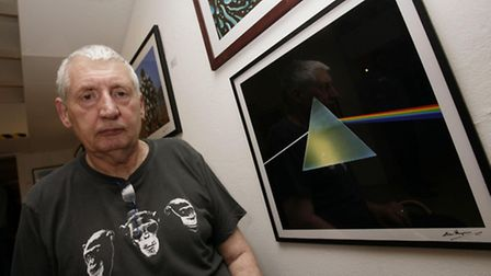 Designer Storm Thorgerson, whose album cover artwork included Pink Floyd's The Dark Side of the Moon