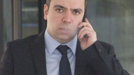 Paul Charalambous outside Southwark Crown Court. Picture: Central News