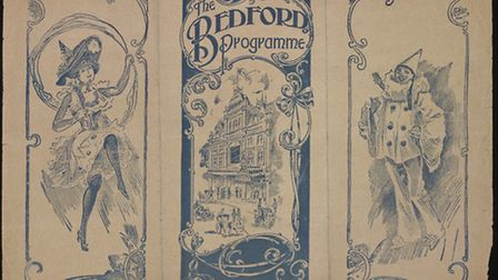 Theatre programme for the Bedford Palace of Varieties 1912