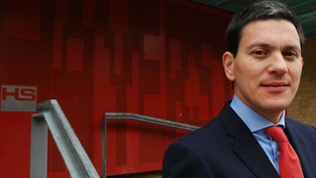 Former pupil David Miliband returned to Haverstock School as a visiting teacher following his defeat