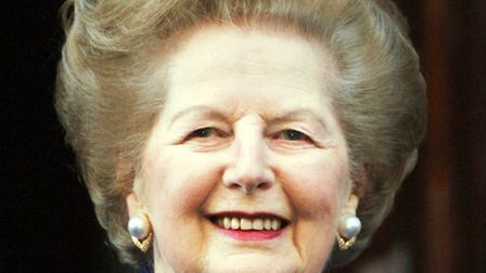 The late Baroness Thatcher