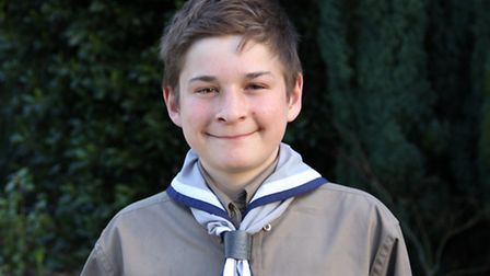 Explorer Scout Jan Sutcliffe, 15, is proud to back the No More Page 3 campaign