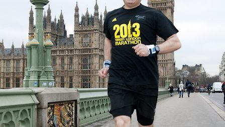 Mo Keshtgar is running the London Marathon to fund his pioneering breast cancer research