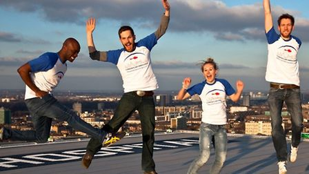City and Hackney Paramedics plan to skydive on Saturday to raise money for London's Air Ambulance Se