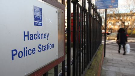 Hackney Police Station in Lower Clapton.
