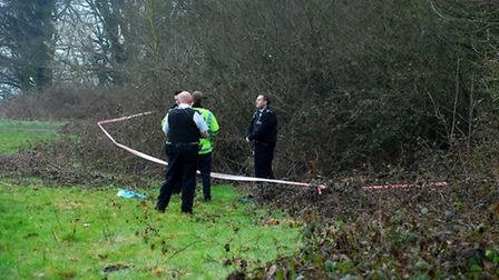 Police from the Met and Heath Constabulary attend an incident on Hampstead Heath after a dog walker