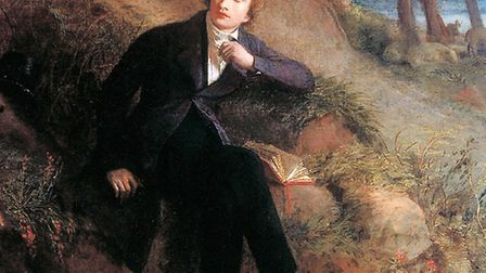 John Keats listening to the Nightingale on Hampstead Heath c1845 by Joseph Severn. Picture: Reproduc