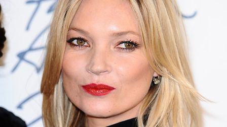 Kate Moss is one of the A-list stars who has supported the exhibition of photographs by Camden schoo