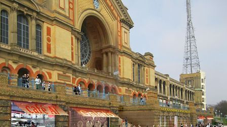 How Alexandra Palace could look if ambitious regeneration plans move forward