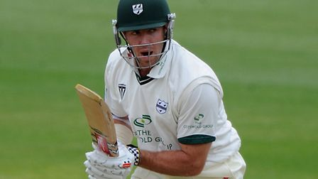 James Cameron in action for Worcestershire