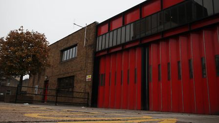 Fire station at Kingsland road