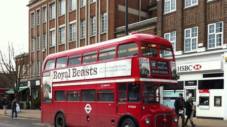 The basement would have been the height of two double decker buses