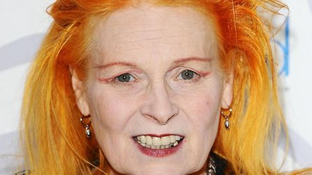 Vivienne Westwood attends the launch party for 'Get a Life' Palladium Jewellery at the Wallace Colle